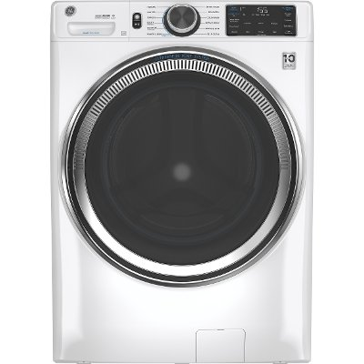 GFW650SSNWW GE 4.8 cu. ft. Capacity Smart Front Load Steam Washer with SmartDispense - White