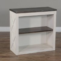 White Country Bookcase - Carriage House
