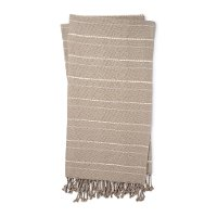 T1038 MH GREY NATURAL Magnolia Home Furniture Gray and Natural Throw Blanket