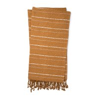 Magnolia Home Furniture Gold and Natural Throw Blanket