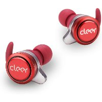 Cleer Ally True Wireless Earbuds - Red