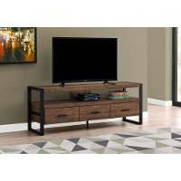 Industrial Brown 3 Drawer TV Stand