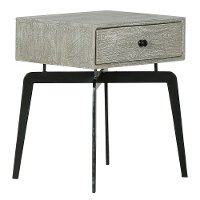 Iron Leg End Table - Modern Eclectic