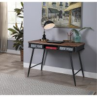 Metal Desk with 2 Drawers - Forester