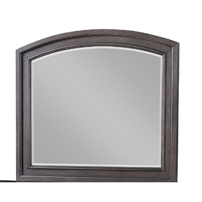 Traditional Chocolate Brown Mirror - Stella