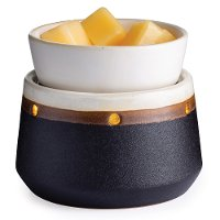 Black Ironstone 2-In-1 Deluxe Fragrance Warmer - Candle Warmers