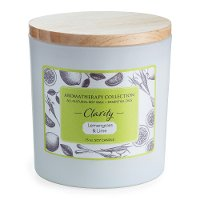 Clarity 15oz Lemongrass and Lime Aromatherapy Candle - Candle Warmers