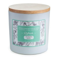 Refresh 15oz Eucalyptus and Mint Aromatherapy Candle - Candle Warmers