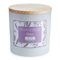 Relax 15oz Lavender and Ylang Ylang Aromatherapy Candle