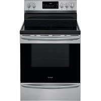 GCRE3060AF Frigidaire Gallery 30 Inch Electric Range with Convection and Air Fry - 5.7 cu. ft., Stainless Steel