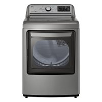 DLG7061VE LG Gas Dryer with Sensor Dry Technology - 7.3 cu. ft. Graphite Steel