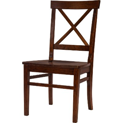 Cherry X Back Dining Room Chair - Abbey
