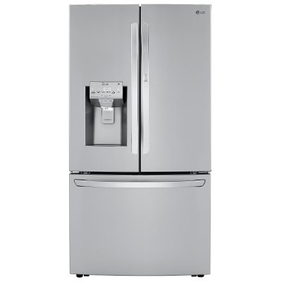 LRFDS3016S LG 36 Inch French Door in Door Smart Refrigerator with Craft Ice - 29.7 cu. ft., Stainless Steel