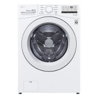 WM3400CW LG Ultra Large Front Load Washer - 4.5 cu. ft. White