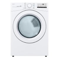 DLE3400W LG Ultra Large Capacity Smart Electric Dryer - 7.4 cu. ft.