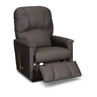 10-795/B654877 Casual Mocha Brown Rocker Recliner - Mercury