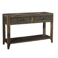 Industrial Sofa Table - Corvelle
