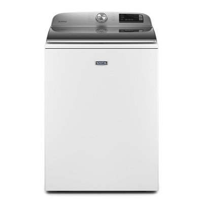 MVW6230HW Maytag Smart Top Load Washer with Extra Power Button - 4.7 Cu. Ft. White
