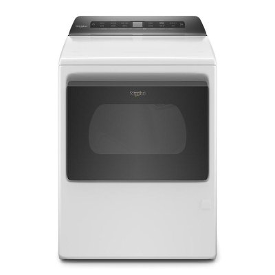 WGD5100HW Whirlpool Gas Dryer with Intuitive Controls - 7.4 cu. ft. White