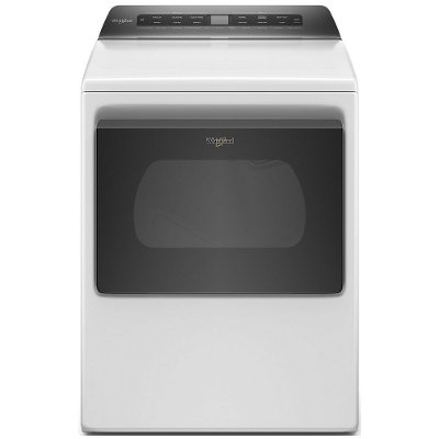 WED6120HW Whirlpool Smart Capable Electric Dryer with Quick Dry - 7.4 cu. ft. White