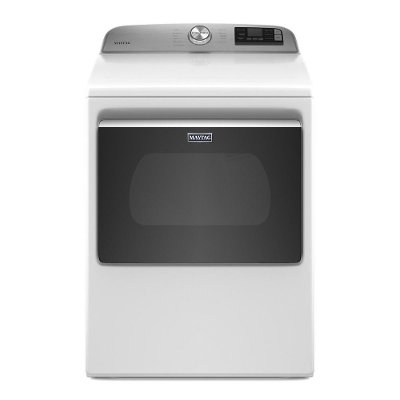 MED6230HW Maytag Electric Dryer with Extra Power - 7.4 Cu. Ft. White