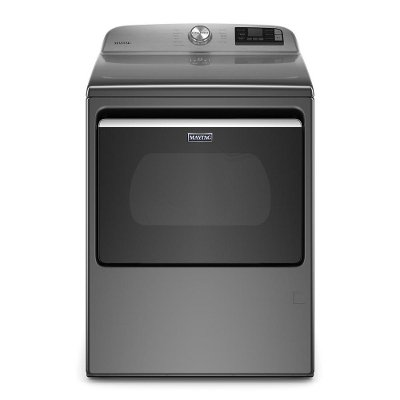 MED6230HC Maytag Electric Dryer with Extra Power - 7.4 Cu. Ft. Metallic Slate