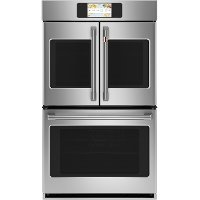 CTD90FP2NS1 Cafe Professional French Door Smart Double Wall Oven - 10.0 cu. ft., 30 Inch Stainless Steel