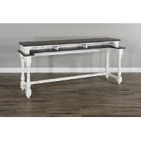 Two Tone Bar Table Console - Bourbon County