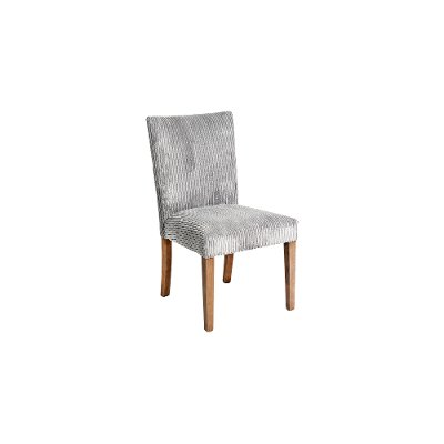 Contemporary Gray Upholstered Dining Room Chair - Sasha