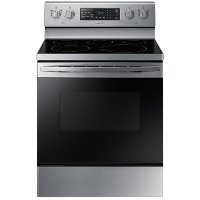 NE59T4311SS Samsung 30 Inch Electric Range - 5.9 cu. ft. Stainless Steel