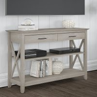 Washed Gray Sofa Table - Key West