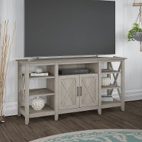 Washed Gray 60  TV Stand - Key West
