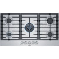 NGM8657UC Bosch 800 Series 36 Inch Gas Cooktop with FlameSelect - Stainless Steel