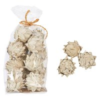 Handmade Dried Natural Palm Leaf Artichokes in Bag