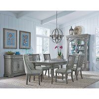 Traditional Gray 5 Piece Dining Room Set - Madison Ridge