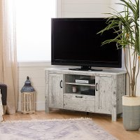 12554 Seaside Pine Corner TV Stand - Lionel