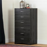 12951 Contemporary Gray Oak Lingerie Chest - Step One