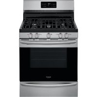 GCRG3038AF Frigidaire Gallery 30 Inch Freestanding Gas Range - 5.6 cu. ft. Stainless Steel