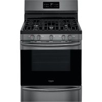 GCRG3038AD Frigidaire Gallery 30 Inch Freestanding Gas Range - 5.6 cu. ft. Black Stainless Steel