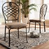 149-4331-RCW Industrial Metal Dining Room Chair - Ripley
