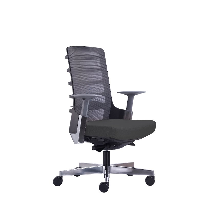 Gray Home Office Chair Seattle Rc Willey Furniture Store