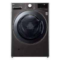 WM3998HBA LG Smart All-In-One Washer/Dryer with TurboWash Technology - 4.5 cu.ft. Black Steel
