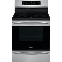 GCRI3058AF Frigidaire Gallery 30 Inch Induction Range with Convection and Air Fry - 5.7 cu. ft., Stainless Steel