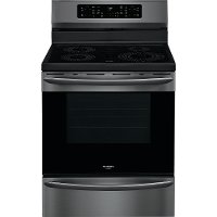 GCRI3058AD Frigidaire Gallery 30 Inch Induction Range with Convection and Air Fry - 5.7 cu. ft., Black Stainless Steel