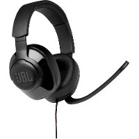 JBLQUANTUM200BLKAM JBL Quantum 200 Wired Over-Ear Gaming Headset - Black