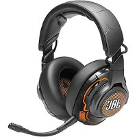 JBLQUANTUMONEBLKAM JBL Quantum ONE Gaming Headphones - Black
