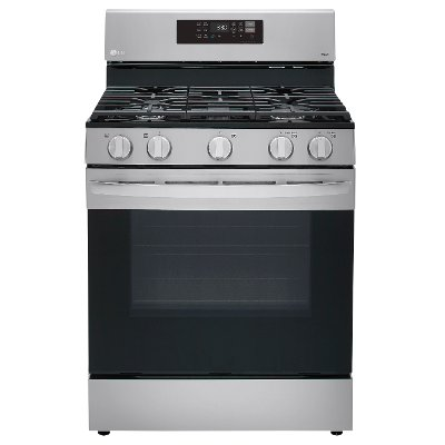 LRGL5823S LG Gas Convection Smart Range with Air Fry - Stainless Steel