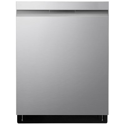 LDP6810SS LG Top Control Smart Dishwasher with QuadWash and TrueSteam - 24 Inch Stainless Steel