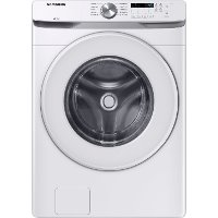 WF45T6000AW Samsung Front Load Washer with Vibration Reduction Technology+ - 4.5 cu. ft. White