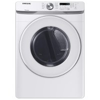 DVE45T6000W Samsung Electric Dryer with Sensor Dry - 7.5 cu. ft. White
